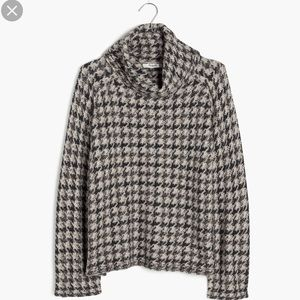 Madewell Houndstooth Sweater